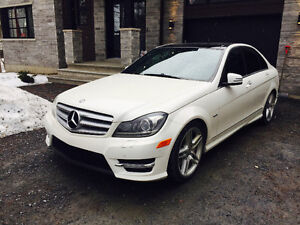 WOW! Mercedes C350 4 Matic 2012
