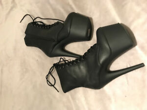 Pleaser Adore1020 boots size 8 - brand new never worn