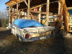 59-galaxie conver. plus a 2dr.parts car