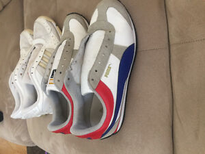 Used shoes for woman Puma and Adidas