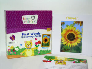 Baby Einstein - First Words Discovery Card
