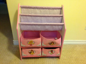 Bin Toy Organizer / Disney / Bookcase
