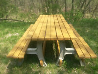 Picnic Table and Bench