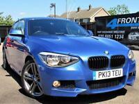 2013 BMW 1 SERIES 120D M SPORT AUTOMATIC 5DR DIESEL HATCHBACK DIESEL