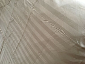 Duvet Cover and Bed Skirt (queen size)