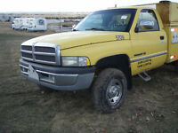 1997 Dodge 2500 4x4 V10 Auto, cab & chassis for bale deck or?