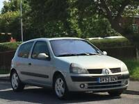 Renault Clio 1.2 16v ( a/c ) Dynamique,LONG MOT,LOW TAX,LOW INSURANCE