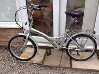 Stowabike city fold up bike