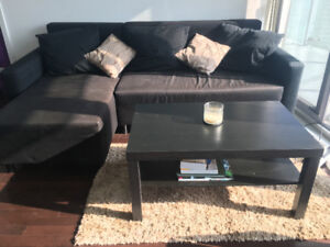 A COUCH AND COFFEE TABLE FOR $300