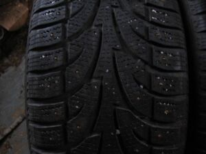 4- studded p225/50r17  Winterclaw Extremegrip  tires