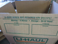 used Uhaul boxes for sale various sizes