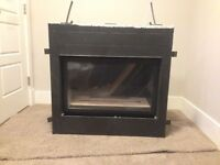 Like New Natural Gas Fireplace Insert -SOLD!