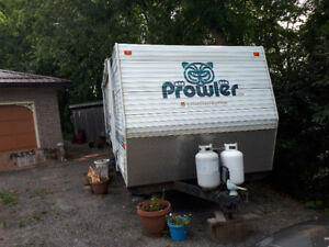 2003 Prowler, Special edition Canadian Lite camping trailer.