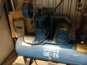 Compresseur QUINCY QE 7.5 H.P