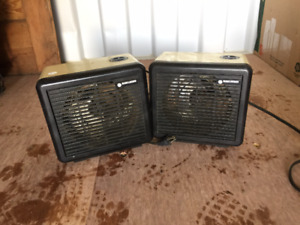 Two Black and Decker Heaters