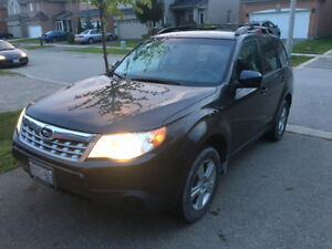 2011 Subaru Forester 2.5 SUV, Crossover with extended warranty