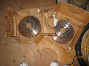 NOS 1980 Corvette Raybestos rear rotors.