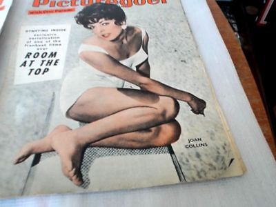 Picturegoer Magazine Feb 1959 Featuring Yul Brynner & Joan Collins Cover Photos.