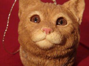 """SANDICAST """"Cat Head ornament"""" (3)"""