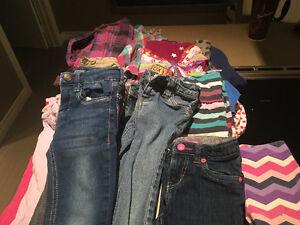 Vêtements de fille 4 ans