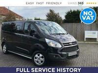 2015 Ford Transit Custom 290 2.2TDCi 125PS Limited LWB L2 Kombi *NO VAT* Combi V