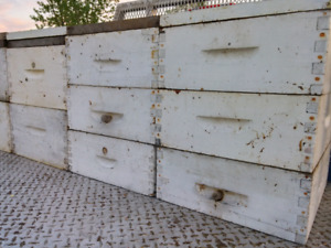 100 Hausses 3/4 pour ruches  langstroth