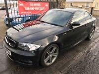 2009 BMW 120D M SPORT, 1 YEAR MOT, SERVICE HISTORY, WARRANTY, NOT A3 C CLASS GOLF C30