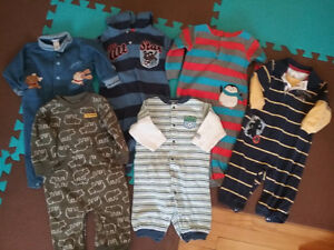 Infant boy 6-12 month one piece outfits