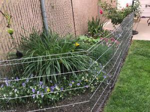 Garden fencing for sale.