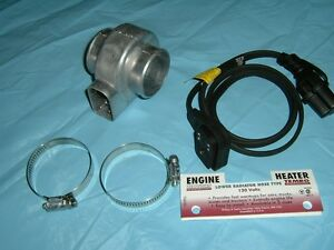 Lower Radiator Hose Engine Heater 600 watts 120 Volts