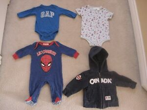 Baby Boy Clothing Lot Plus Baby Book
