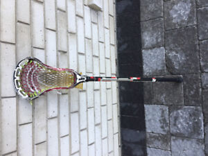 Lacrosse sticks and equipment