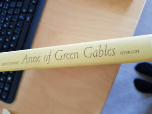 Anne of Green Gables hardcover book