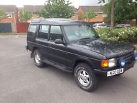 £1495 LANDROVER DISCOVERY MOT TIL MARCH DRIVES PERFECT
