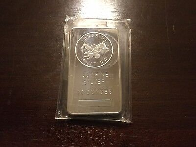 10 oz Sunshine Silver Bar