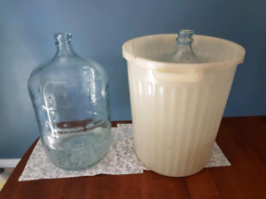 Carboys and fermentation pail