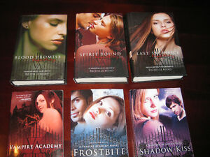Vampire Academy Series book 1-6by  Richelle Mead $35 OBO