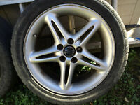 Volvo Rims with tires