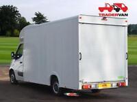 2014 VAUXHALL Movano F3500 L3 H1 2.3 CDTi 125ps Luton Long Wheel Base Low Loader