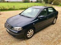 2002 Vauxhall Astra 1.6i 16v Club - MOT 07/18 - HPI clear - 1 month warranty