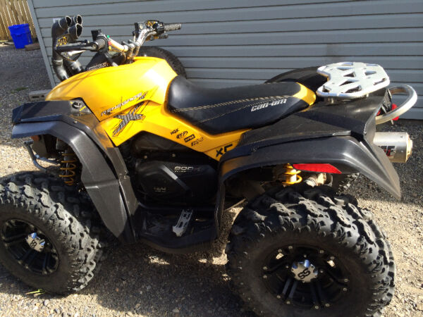 Used 2011 Can-Am Renegade 800 xxc