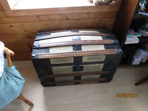 Very Old Trunk with Cedar Interior