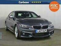 2017 BMW 4 Series 430d M Sport 5dr Auto [Professional Media] COUPE Diesel Automa