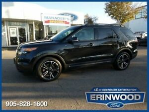 2015 Ford Explorer Sport3.5L ECOBOOST/LTHR/PROOF/NAV/REM START