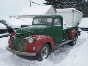 "1946 Chevy Pick Up  ""PENDING"""