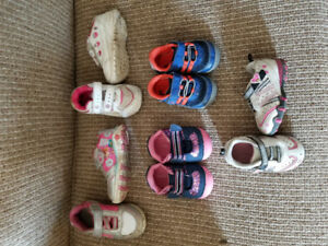 Toddler shoes 1$ EACH