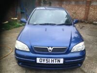 51 REG Vauxhall ASTRA 1.6 AUTO LONG MOT LOW MILEAGE EXCELLENT CONDITION DRIVE SPOT ON