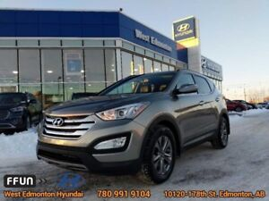 2015 Hyundai Santa Fe Sport LUXURY  Luxury-Leather-Panoramic Sun