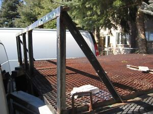 expanded metal trailer truck deck