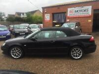2006(56) Saab 9-3 1.9TiD ( 150bhp ) Cerulean Vector,Cabriolet **ANY PX WELCOME**